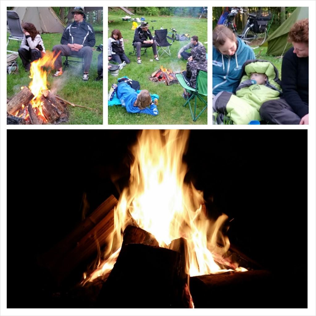 Bonfire happines
