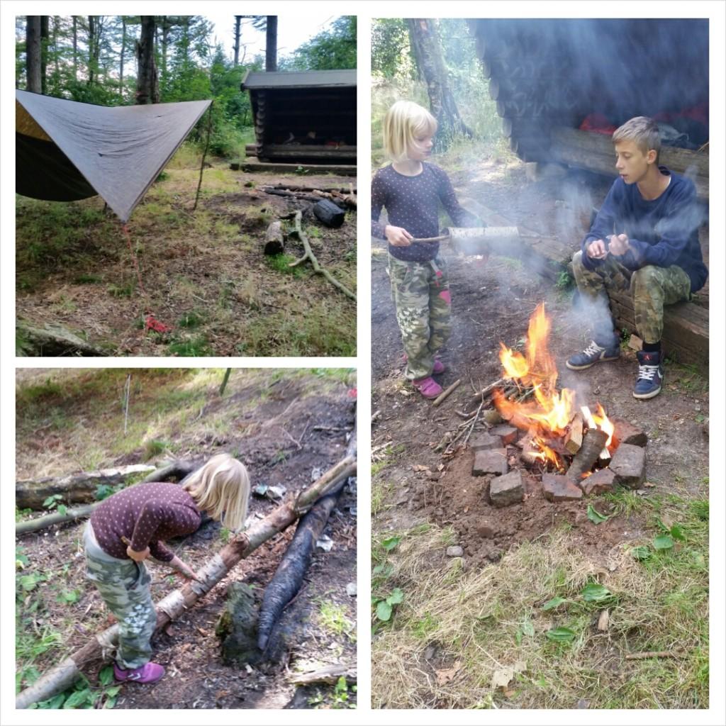 Bonfire hygge.