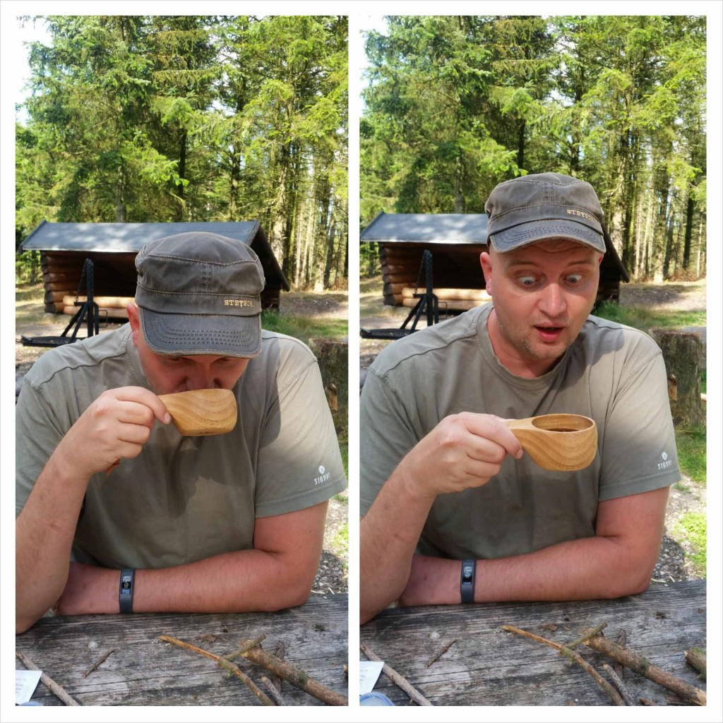 Overraskende god kaffe :-D