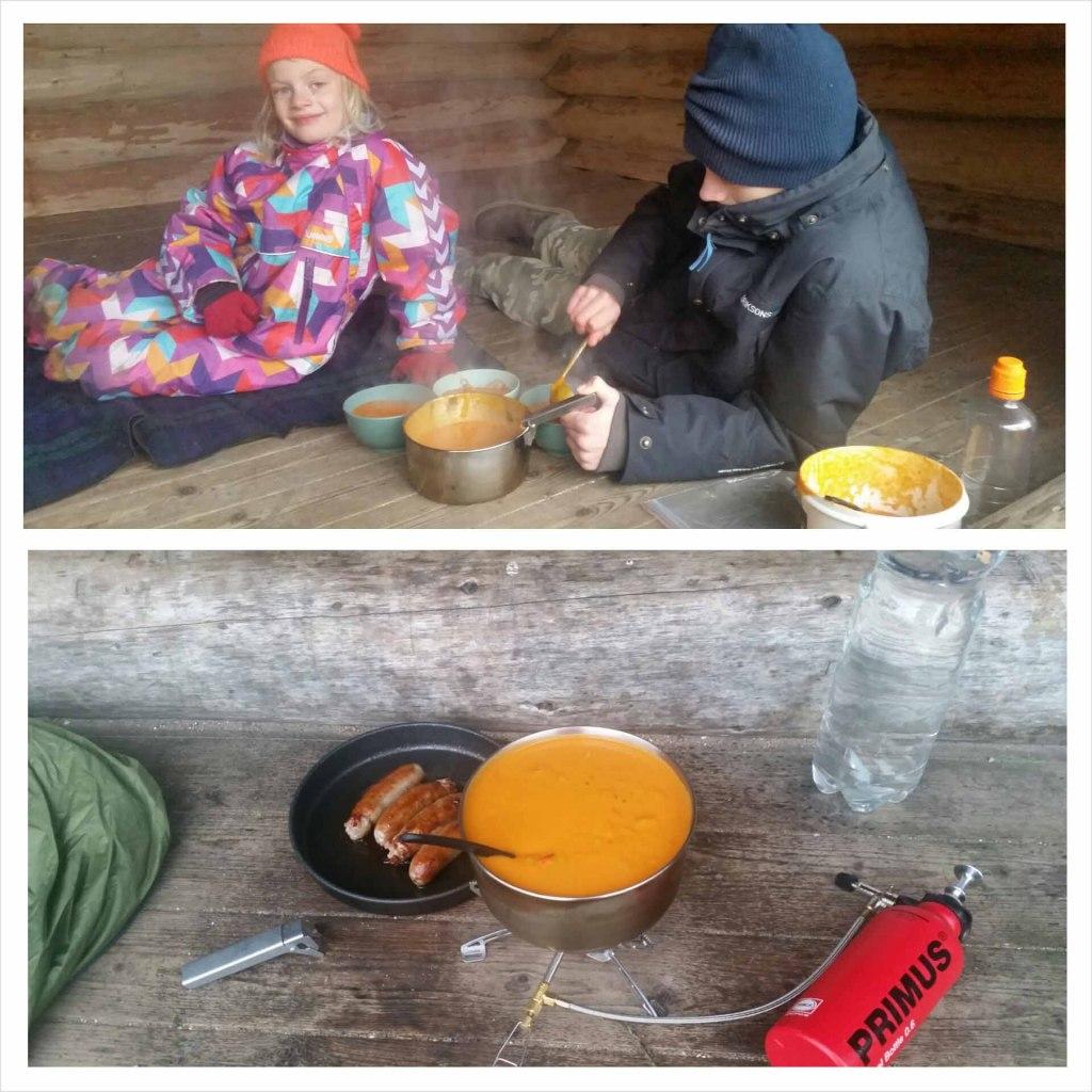 Medister og Hjemmelavet suppe er sagen.. :-)