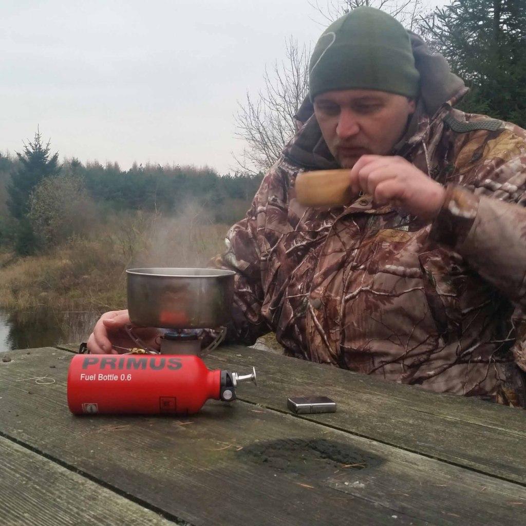 Pakke sammen og tak for weekenden kaffe ;-)