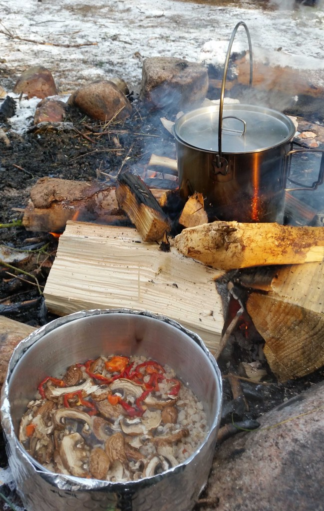 Maden er snart klar.