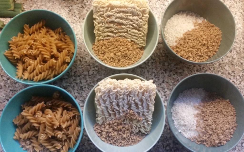 Soy4You,pasta,nudler og ris.