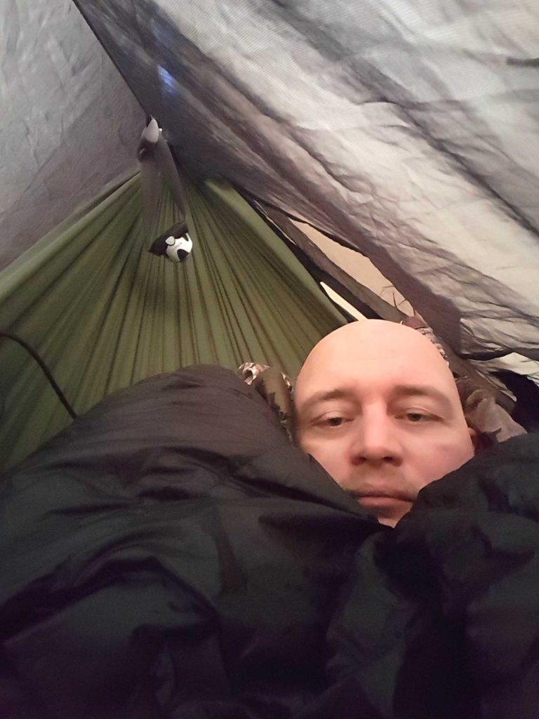 Godmorgen... eneste cold spot var hovedet,havde glemt huen :-(